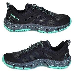 New Merrell hydrotekker water hiking shoes black
